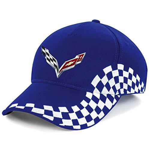 chevrolet-corvette-logo-gm-ricamato-cappellino-da-baseball-grand-prix-k1074-blu