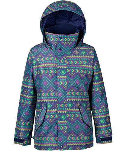 Burton Mädchen Elodie Jacket Snowboardjacke, Bohemia, XS   09009520674532
