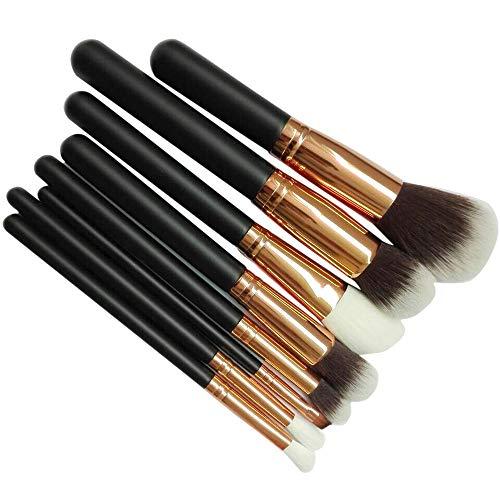 YCQUE 8 PCS Make-Up Pinsel Set Puder Foundation Lidschatten Eyeliner Lip Kosmetik Pinsel Lidschatten Pinsel, Foundation ()