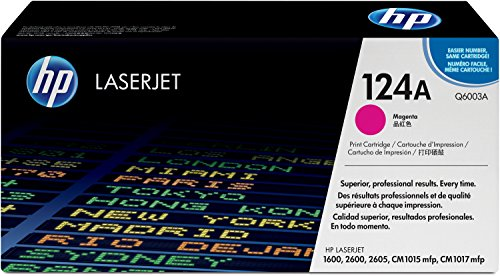 HP 124A (Q6003A) Rot Original Toner für HP Color Laserjet 2600, 2605,...
