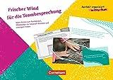 Perfekt organisiert im Kita-Team: Frischer Wind für die Teambesprechung: Ideen-Karten zum Nachdenken, Miteinander-ins-Gespräch-Kommen und Lösungen finden. 50 Karten mit Begleitheft