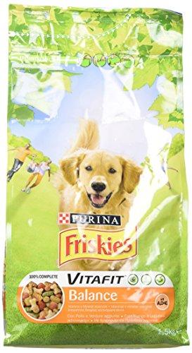 Friskies vitafit balance crocchette per il cane, con pollo e verdure aggiunte, 1.5 kg