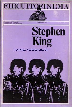 CIRCUIT TO CINEMA - STEPHEN KING.
