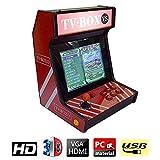 ZQYR GAME# 3D Console de Jeux vidéo Arcade, 2448 en 1 Console de Jeux vidéo 720P HD...