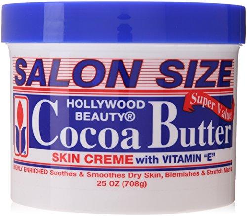 Kakao-butter Körper-creme (Hollywood Beauty Kakao Butter Haut Creme (708G))