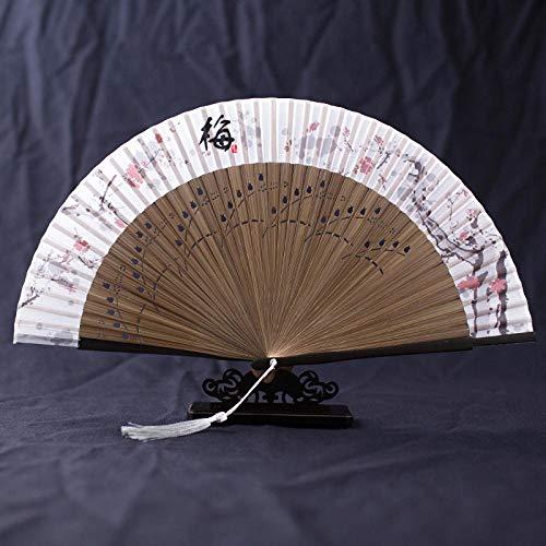 Faltfächer Chinesischen Stil Tinte Falten Fan Sommer Gericht Wind Klassische Handwerk Fan Retro Stil Hanfu Kostüm Fotografie Tanz Fan F