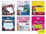 Pastelli A Cera Disney - 24 Confezioni Assortite - Bambini Regali Scuola Disegno