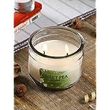 Hosley® Sweet Pea Jasmine Highly Fragranced, 2 Wick, 10 Oz Wax, Jar Candle