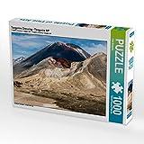 Tongariro Crossing - Tongariro NP 1000 Teile Puzzle quer: Neuseeland -  Die Welt in einem Land (CALVENDO Orte)