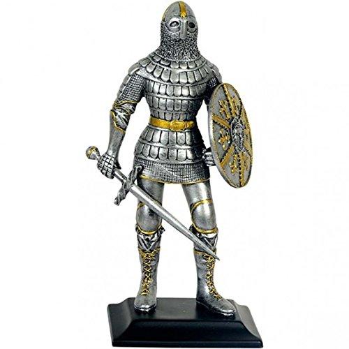 MC Deko Ritter Rüstung mit Schwert und Rundschild # Mittelalter