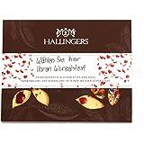 Hallingers Tafel personalisiert Für Dich Herz-Edition, weiß | Tafel-Karton | 90g