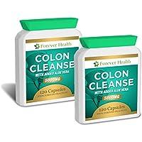 Colon Cleanse Aloe Vera - Pulizia Di Colon - Erbe