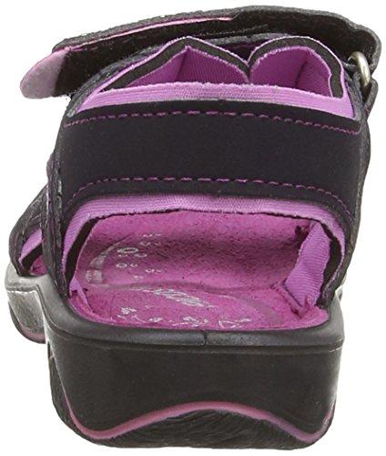 Ricosta Newa M 61, Chaussures aquatiques Fille Bleu (Sea/Candy)