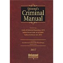 Criminal Manual: Cr.P.C., I.P.C. and Evidence (Pocket Size) 2017