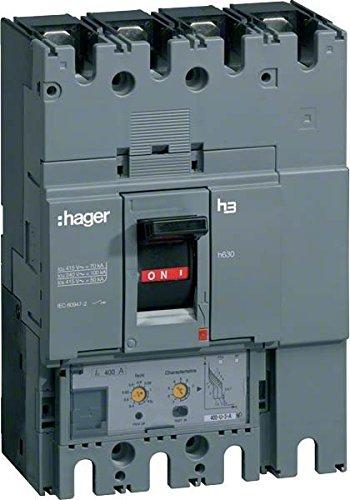 HAGER H630 - INTERRUPTOR AUTOMATICO CAJA MOLDEADA/0 H630 4P4D 50KA 250A LSI