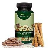 Canela de Ceylán 2000 mg Sin Aditivos | 120 Cápsulas | Afrodisíaco + Digestivo + Acidez Estomacal | Testado en Laboratorio | Apto para Veganos | Vegavero