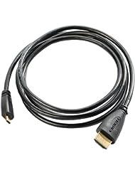 Ultrasport UmovE HDMI Kabel, TV Anschlusskabel Micro HDMI auf HDMI für Actionkamera