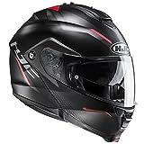 Casque Moto Hjc Is-Max 2 Dova Rouge (M , Noir)
