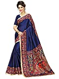 #1: Indian Beauty Women's Kalamkari Khadi Silk Designer Saree With Blouse