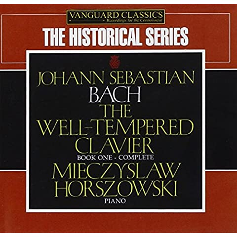 The Well-Tempered Clavier - Book 1 (Horszowski) - Bach Well