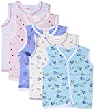 #3: First Step Vest (Pack of 5, 3-6 Months)