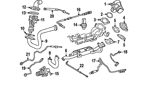 Mercedes Benz 651 153 00 28 Engine Coolant Temperature Sensor