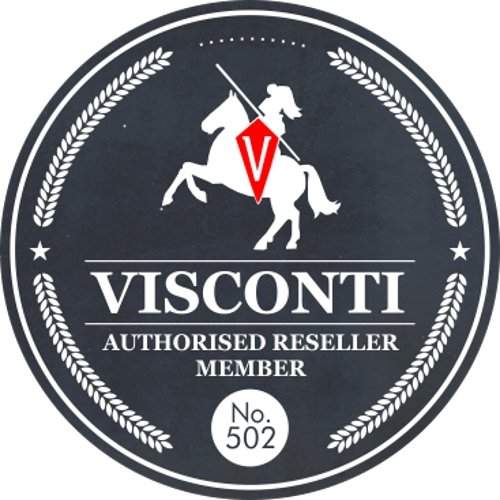 Visconti italiana Vintage Collection BENITO pelle Goccia Maniglia Folio ITL91 nero nero