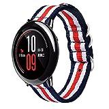 Für Xiaomi huami amazfit Sport Ersatz-Gurt, Y56Fashion Leinwand Watch Band Gurt mit Schnalle Stecker für Xiaomi huami amazfit