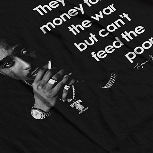 Tupac Shakur War Quote Men's Vest Black