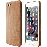 Satechi® Funda de Poliuretano con Diseño de Madera para iPhone 6/6S/6 Plus/6S Plus [Ultra Slim] Apple iPhone Ligera Cubierta Ajustada de la Contraportada (iPhone 6 / 6s)