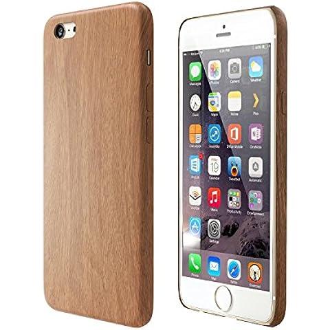 Satechi Funda de Poliuretano con Diseño de Madera para iPhone 6/6S/6 Plus/6S Plus [Ultra Slim] Apple iPhone Ligera Cubierta Ajustada de la Contraportada (iPhone 6 /