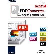 Franzis Quick PDF Converter Pro 2015