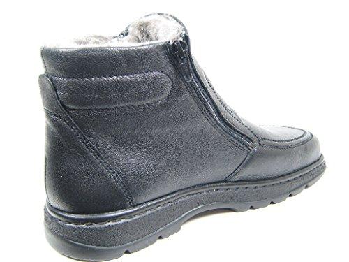 Solidus Natura Man Softcalf 00090 82113 Herren Boots Schwarz