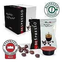 Questo prodotto è composto da 4 confezioni Bespresso contenenti ognuna 50 capsule di caffè decaffeinato compatibili con tutte le macchine che usano cialde Lavazza* A Modo Mio. Per chi non vuole rinunciare al sapore del caffè più INTENSO, il n...