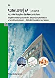 Abitur 2019 | eA - GTR: Aufgabensammlung zur zentralen Abiturprüfung Mathematik an beruflichen Gymnasien - Wirtschaft, Gesundheit und Soziales in Niedersachsen