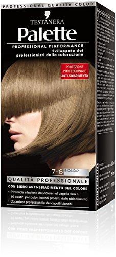 teinture pour les cheveux 7-6 blond