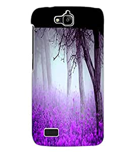 ColourCraft Forest View Design Back Case Cover for HUAWEI HONOR HOLLY