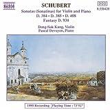Sonatas for Violin and Piano, Fantasy D934