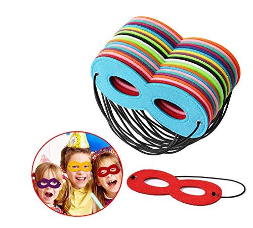 erhelden Masken Cosplay Kinder Geburtstag Party Augenmasken Weihnachten Halloween Filz Masken Mit Elastischen Seil ()