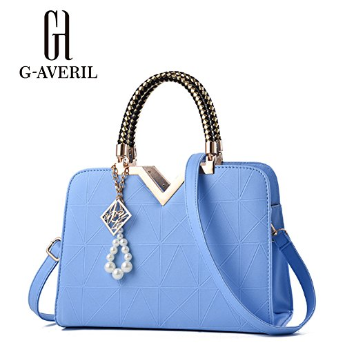 G-AVERIL, Borsa a mano donna rosa Pink Blue