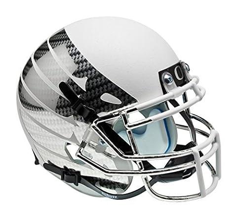NCAA Oregon Ducks Wing Replica Helmet, One Size, White by Schutt