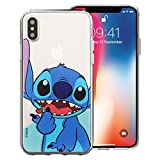 iPhone XS Max Coque Disney Cute Coque Jelly Souple pour [Apple iPhone XS Max (16,5 cm)] Coque Heart Stitch (iPhone XS Max)