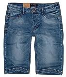 m.g.fashion -  Pantaloncini - Pantalone capri - Uomo blu Azzurro slavato