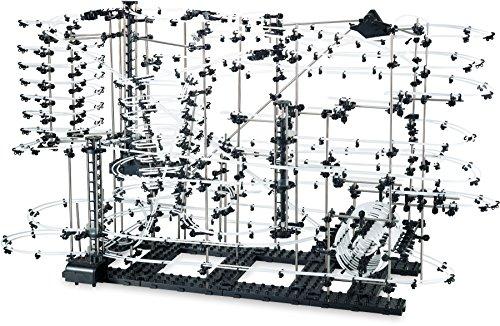 Small Foot 6732 Circuit à boules Extreme de 35 m de long, auto-assemblée, avec boucles et courbes, 15 ans et plus