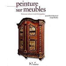 Peinture sur meubles : Inspiration Renaissance italienne et motifs d'art populaire, Edition bilingue français-anglais de Jean-Pierre Besenval (17 septembre 2009) Relié