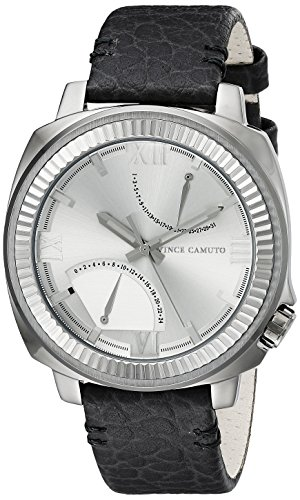 vince-camuto-the-veteran-unisex-quartz-watch-with-analogue-display-and-silicone-leather-strap-vc-100