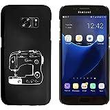 Negro 'Máquina de Coser' Funda / Carcasa para Samsung Galaxy S7 (MC00018775)