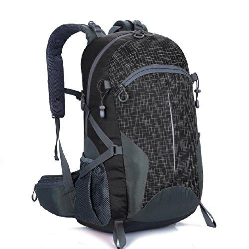Lf&f 40-50l di grande capacità borsa sportiva nylon di alta qualità di alta qualità zaino da montagna borsa studentesca riding multiuso vacanza bagaglio da campeggio uso quotidianod40-50l
