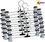 #10: Bmax™ Steel Clip Cloth Hanger, Pack Of 12