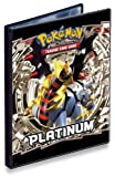 82336 - Pokemon 4-Pocket Portfolio platino, álbum de recortes pequeño [importado de Alemania]
